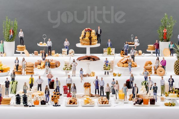 3D-Figuren-Buffet